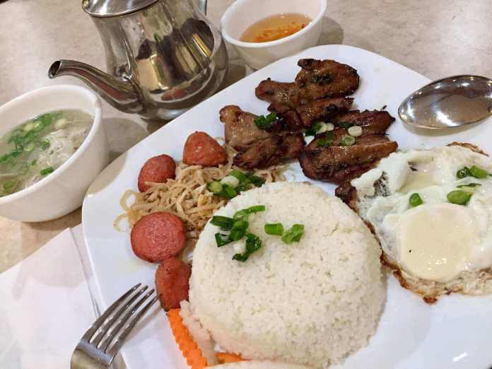 Vietnamese broken rice in Calgary city ends 8-day travel from toronto to banff