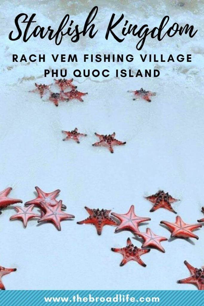 starfish kingdom rach vem fishing village phu quoc island - the broad life's pinterest board