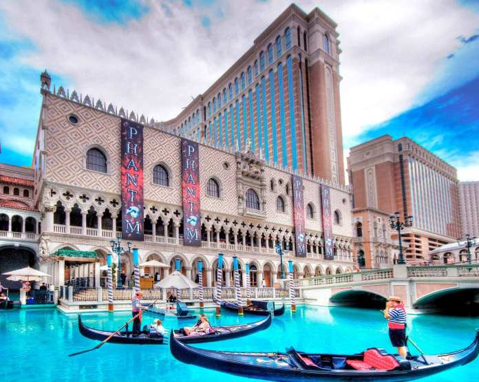 the venetian resort, one of the biggest hotels in the world