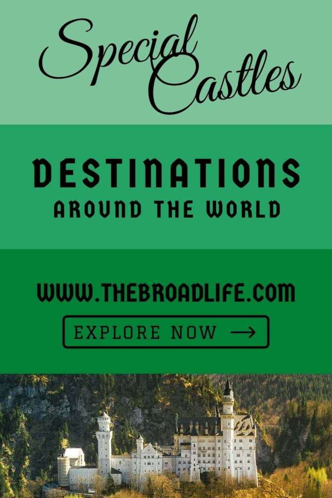 the broad life's pinterest board for special castles around the world