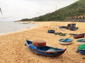 this is Xep Beach (or Bãi Xép in Vietnamese)