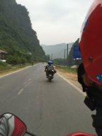 just left Ha Giang city and start our journey