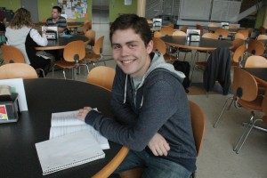 Alex Hogen was much more challenged in his studies at home than his first term at COCC.