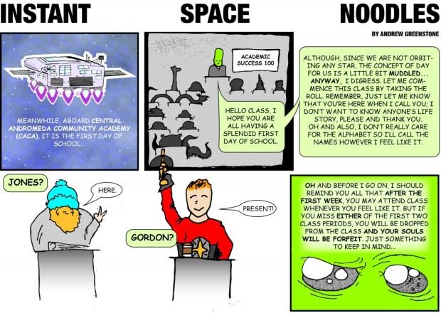 Instant Space Ramen