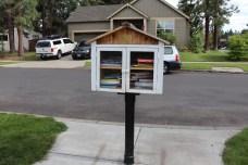 Pine Ridge Elementary box at 19840 Hollygrape St, Bend, OR 97702