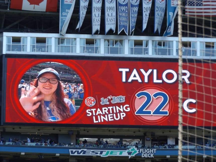 Taylor Blue Jays