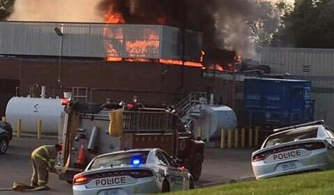 Lakeridge Health Port Perry fire