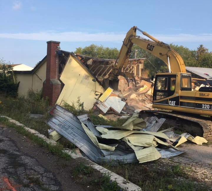 Former restaurant demolished to make way for professional offices