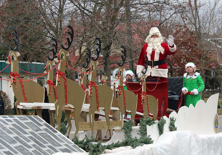 Santa Claus parade set for Saturday in Cannington