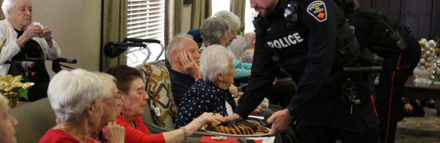 Durham Regional Police Seniors Christmas program