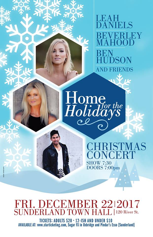 Canadian country star headlines holiday show in Sunderland