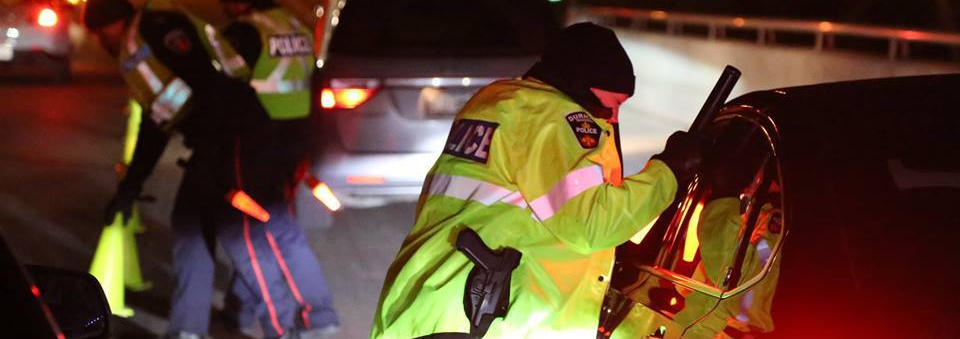 Six people charged with impaired driving during first week of Festive RIDE