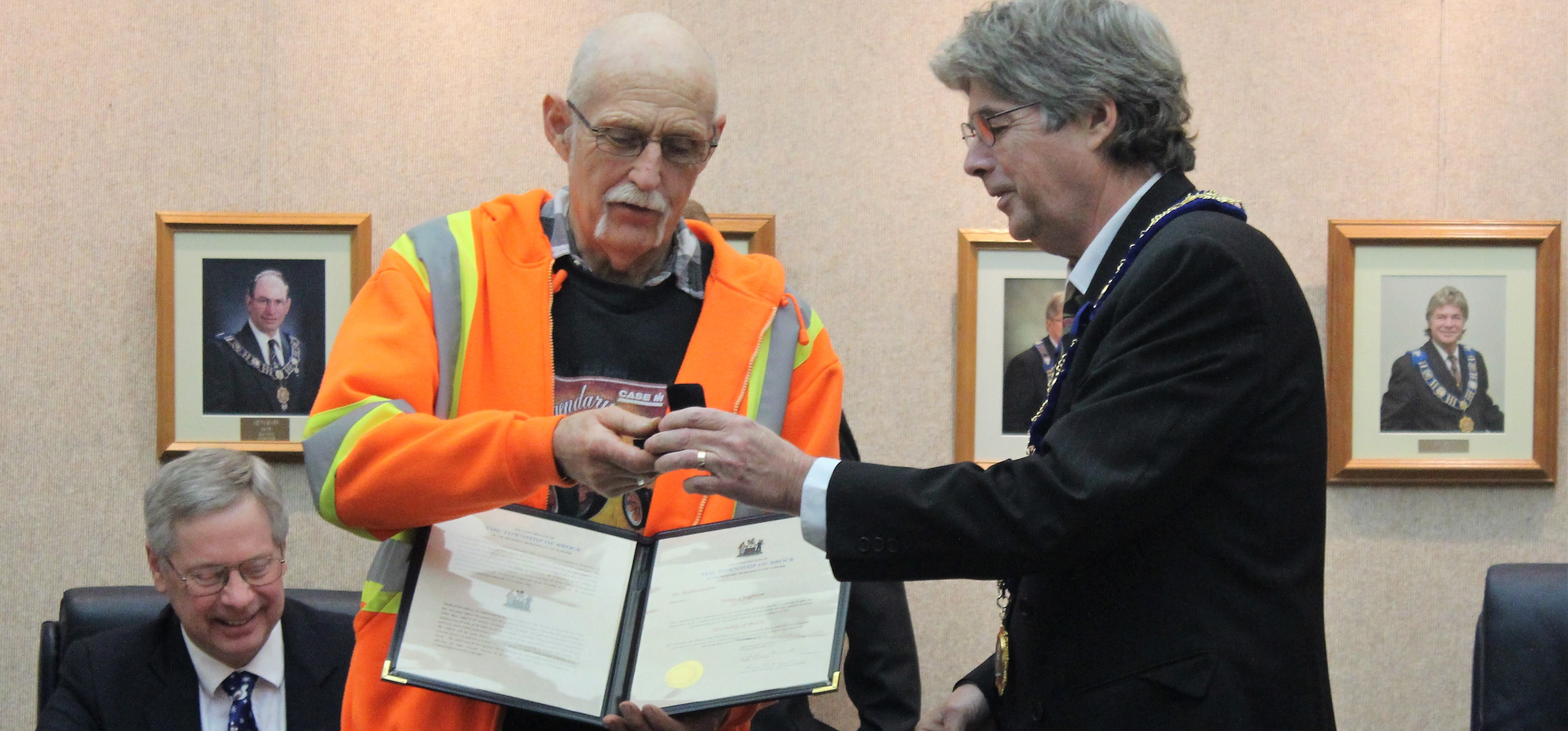 Brock Township Council celebrates long-time staff