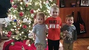 Aubree, Landon and Chase Ostertag