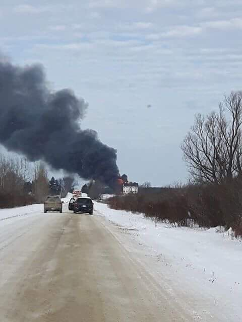 Kawartha Lakes emergency crews respond to fire near Argyle