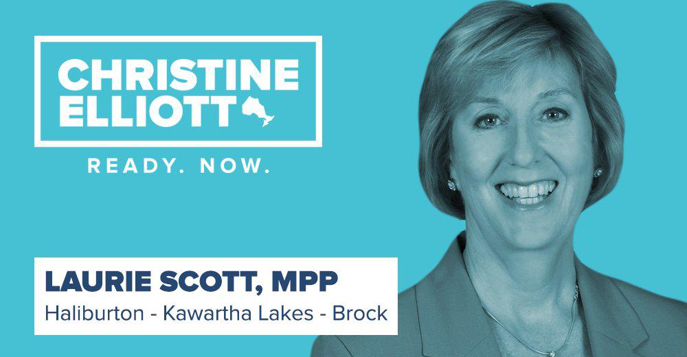 Area MPP endorses Christine Elliott as new Progressive Conservative leader
