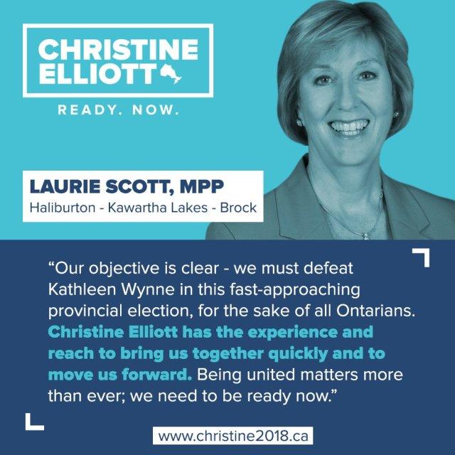Laurie Scott endorsement