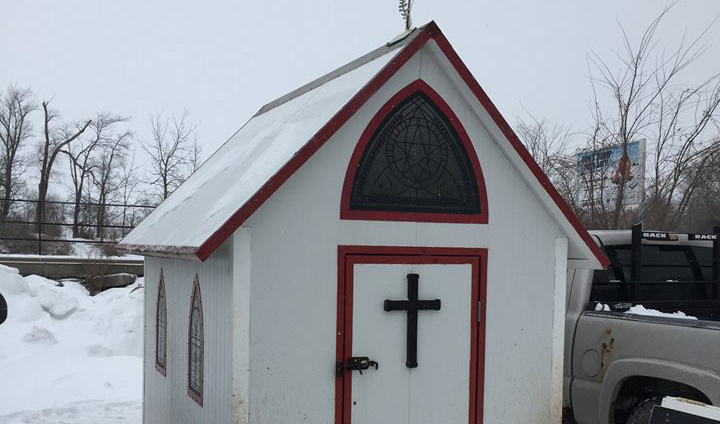 Chapel on the ice returns to Lake Simcoe