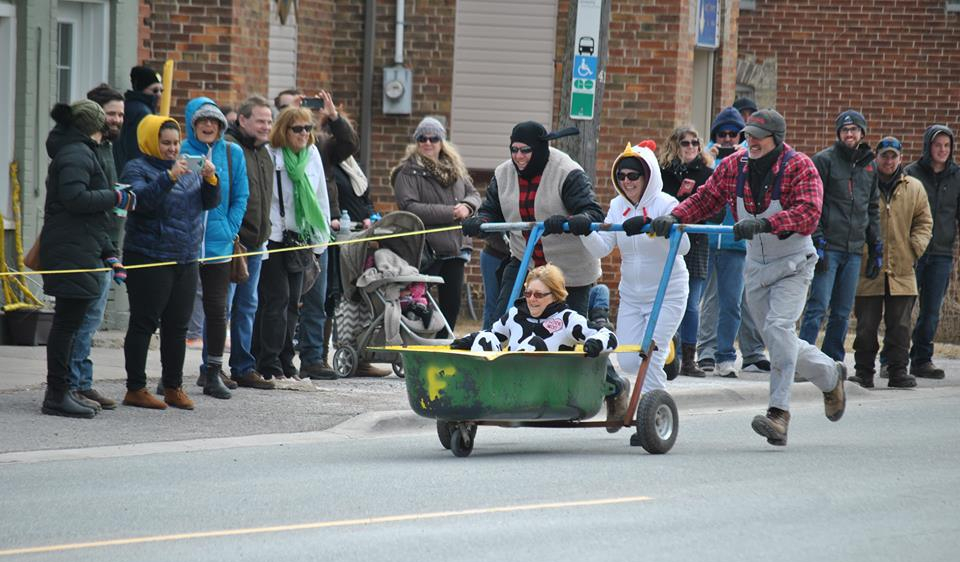 Sunny start to Sunderland Maple Syrup Festival
