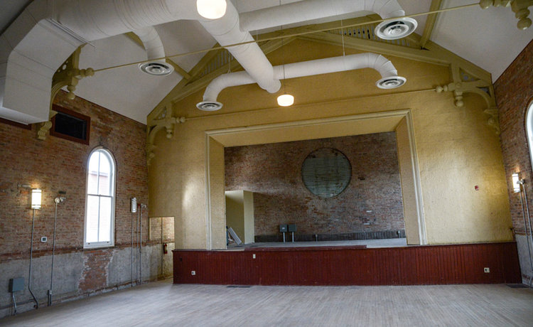 Arts group seeking grant to start restoration of second floor of the Cannington Town Hall