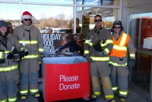 Firefighters to fill truck for Food Bank
