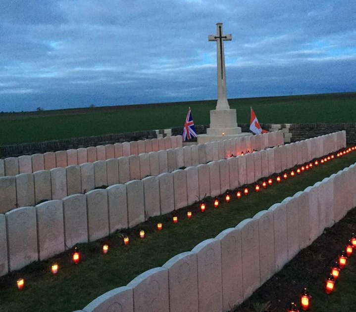 Brock student organizes candlelight vigil for Canadians killed in First World War