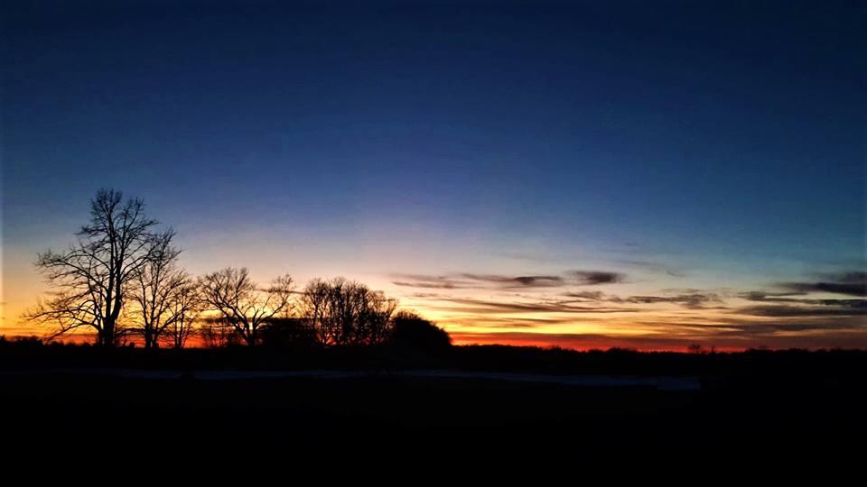 Beaverton resident snaps some shots of beautiful December sunsets