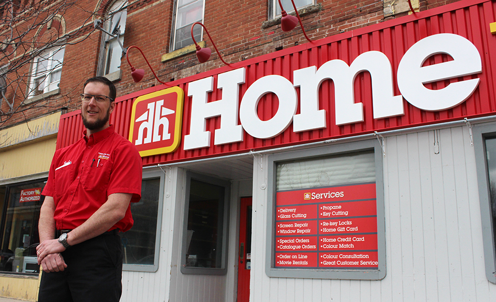 Work underway to re-open Cannington Home Hardware