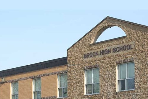Brock High, school board celebrating student's scholarship win