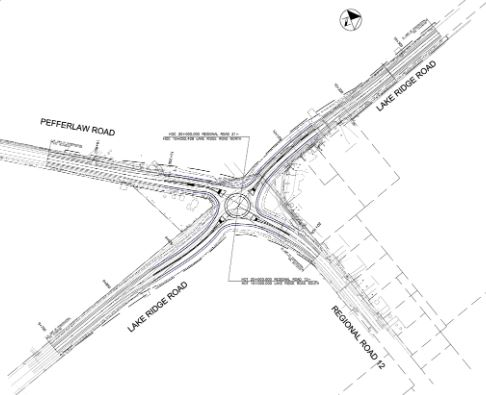 Construction of roundabout on Lake Ridge Road still set for this year