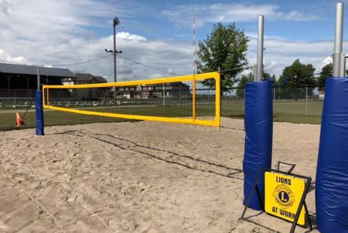 Beach volleyball courts open in Sunderland