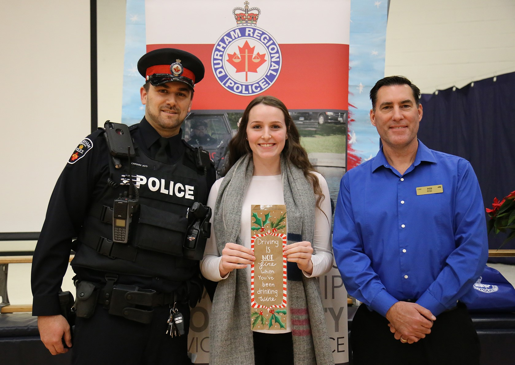 Brock High student submits winning entry in 'Think of Me' campaign