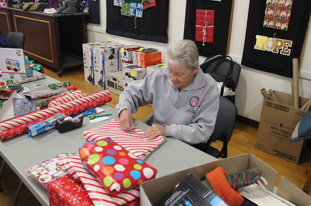 Early start for Christmas Wish program