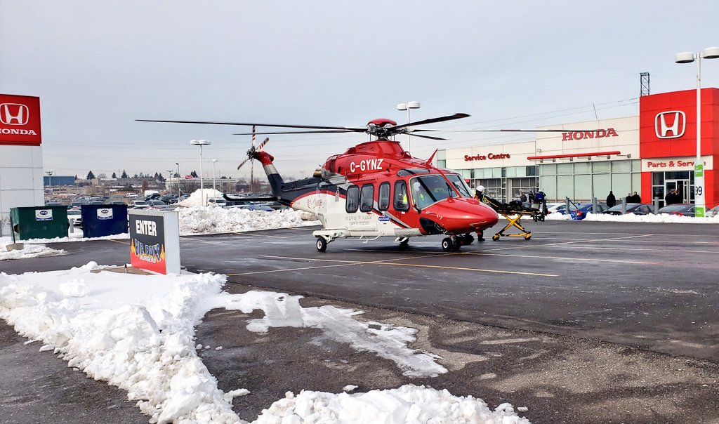 Three people taken to hospital following accident in Whitby