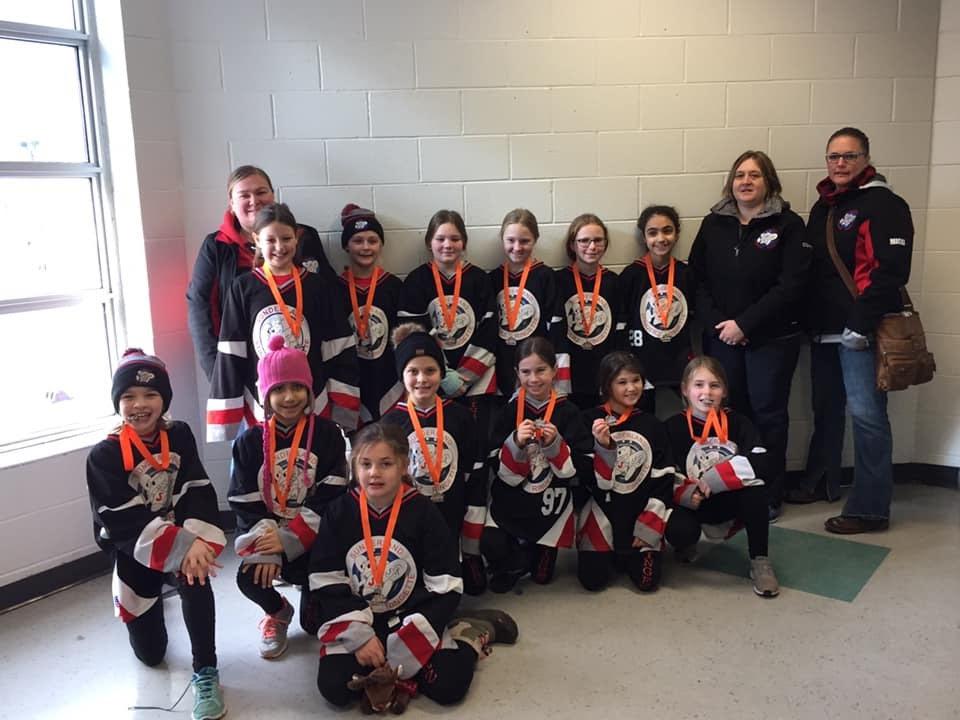 U10 Stingerz capture silver medal in Burlington