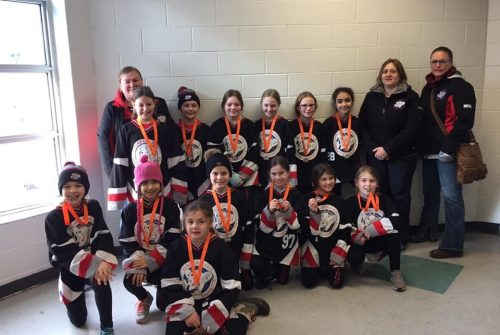 U10 Stingerz capture silver medal in Burlington