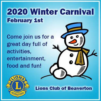 winter carnival ad