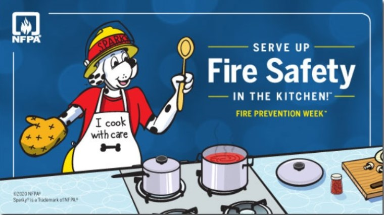 Serving up some safety tips for Fire Prevention Week