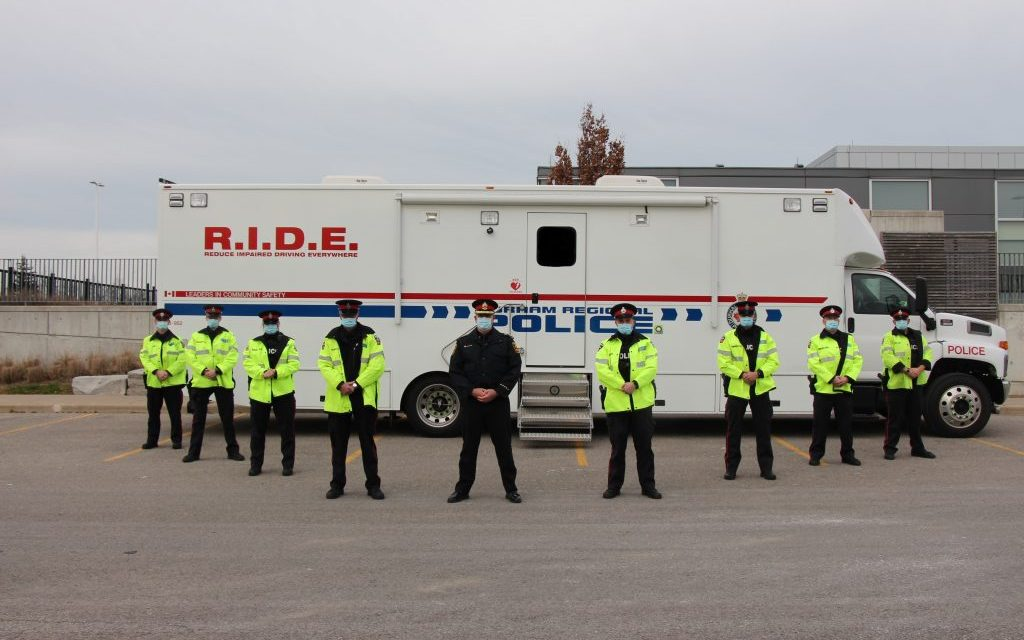 Fourteen people charged with impaired driving through first two weeks of Festive RIDE