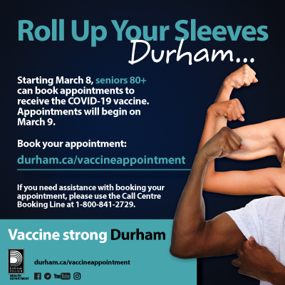 Durham Vaccine Appointment