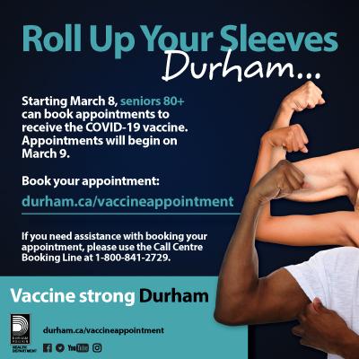 Durham Vaccine Appointment