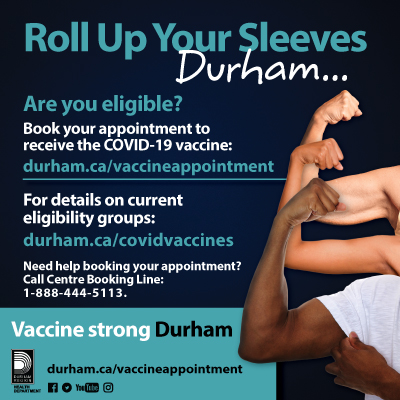 Roll up your sleeves durham ad