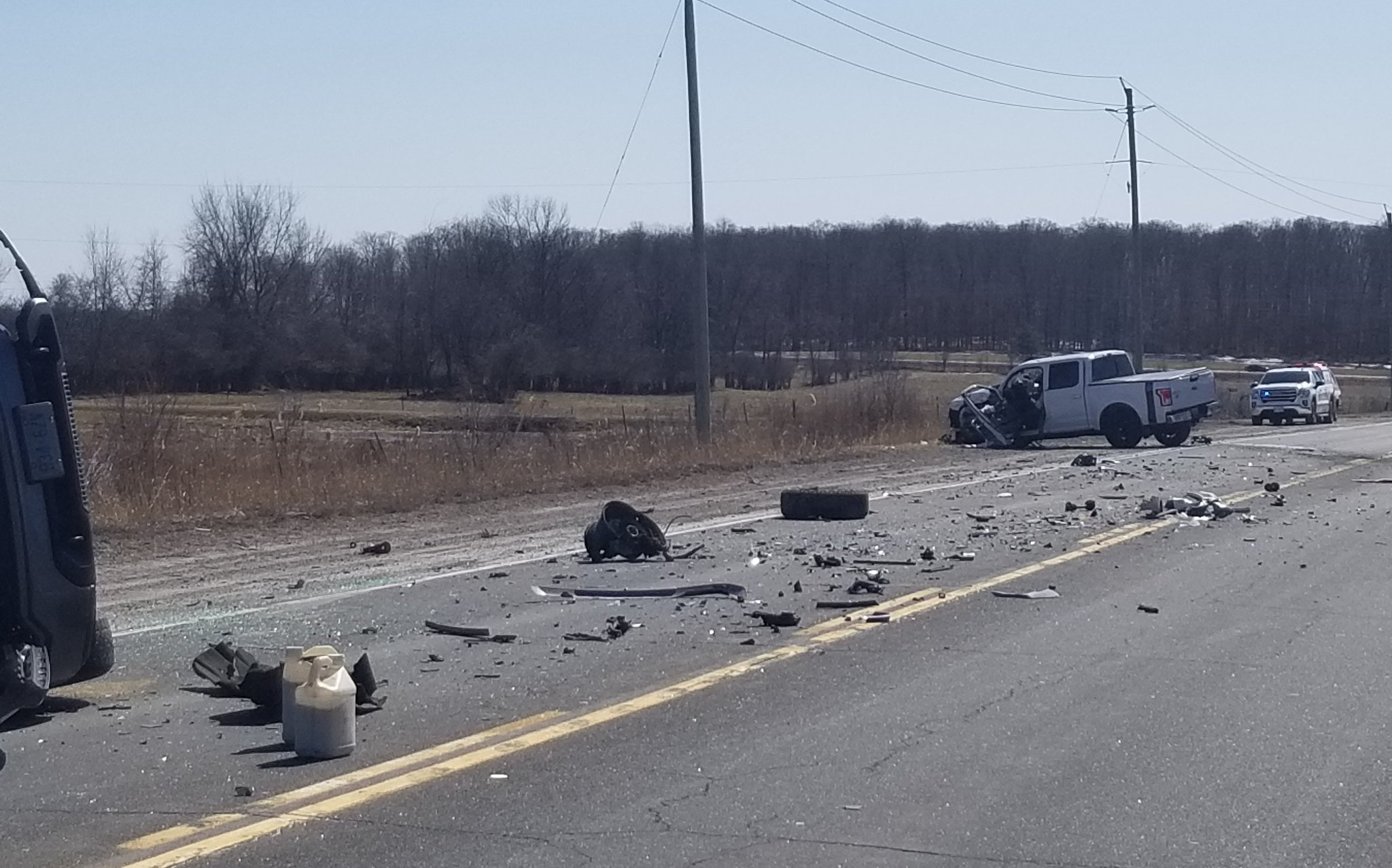 Serious collision closes stretch of Highway 7 near Peterborough