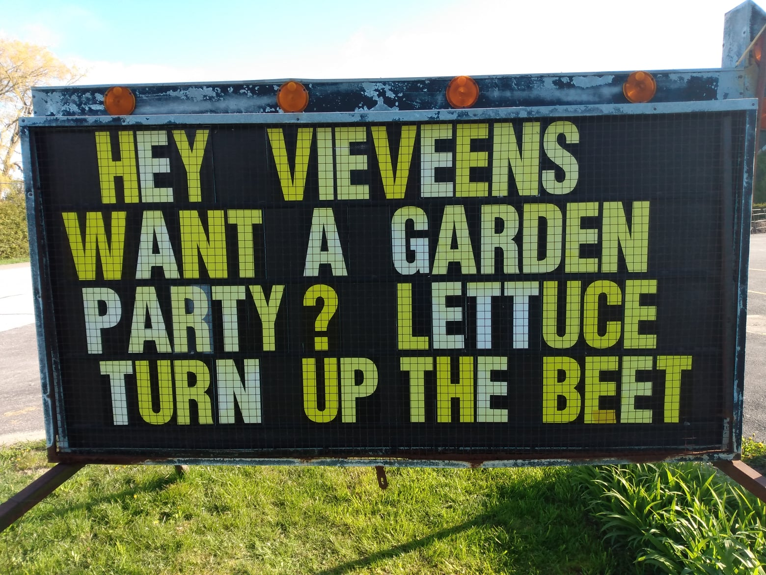 Brock Township's sign war rages on