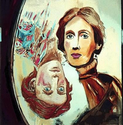 Christiaan Tonnis : Virginia Woolf | Through the Looking Glass | Print | 2014