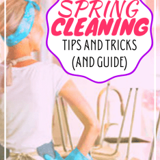 4 SPRING CLEANING TIPS AND TRICKS