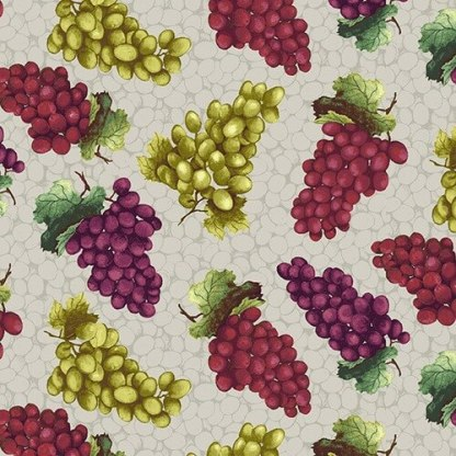 Henry Glass Wine Night Tossed Grapes 1355-9