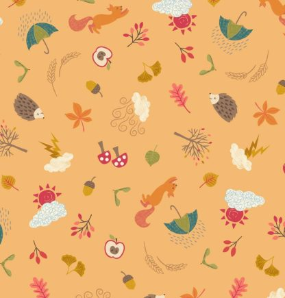 Lewis & Irene - Autumn - Little Critters - A372.3