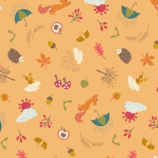 Lewis & Irene - Autumn - Little Critters - A372.3