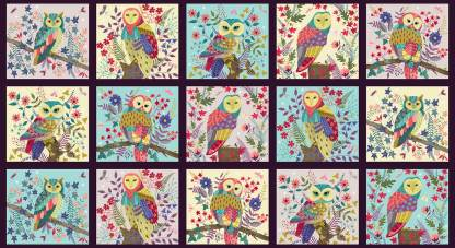 Blank Quilting - Owl Prowl by Susan Taylor - Blocks- 1137-11